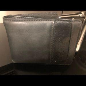 💜 Preloved well worn Gen Leather Buffalo Wallet !